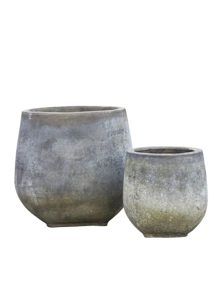 10109024 B.Green Clay Pot Agnes