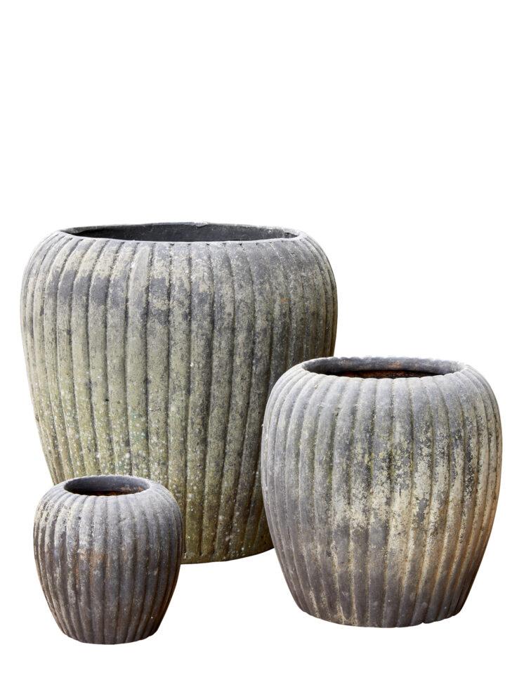 10109028 (A) B.Green IRMA Choko Patina Clay Pot
