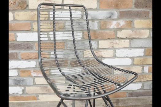 Industrial nickel chair