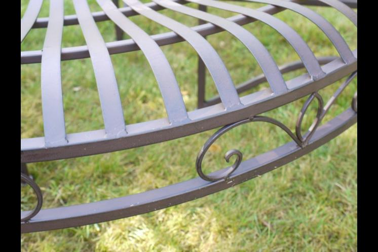 Dark Bronze Tree Bench