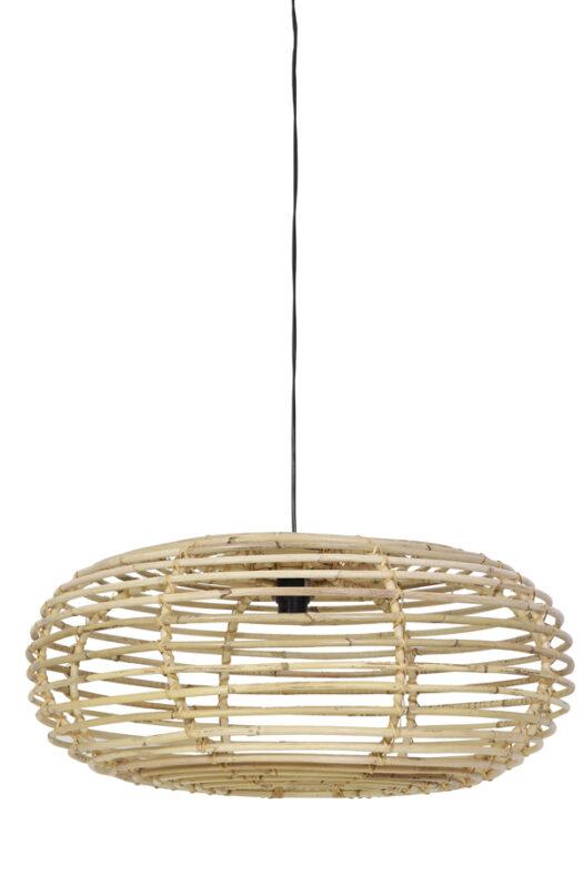 2903430- Hanging lamp 50x30 cm ALANA rattan natura