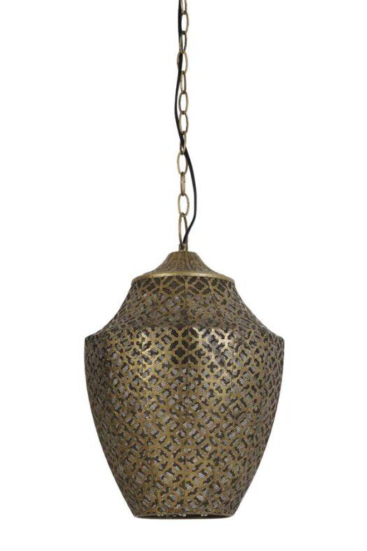 2929685 - Hanging lamp Ø29,5x45,5 cm SELNA gold