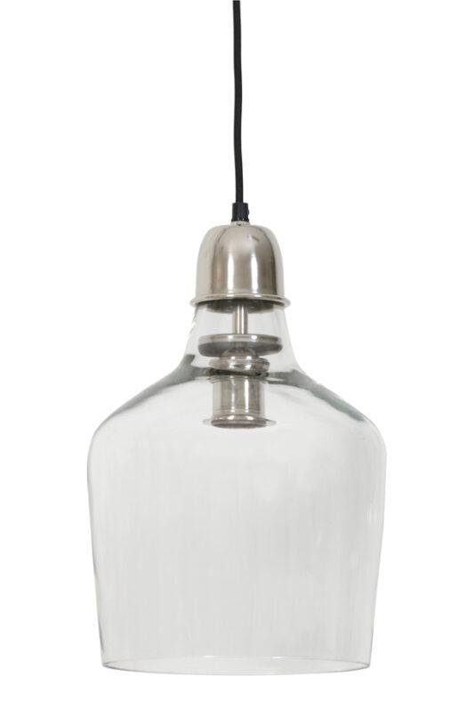 3052619 - Hanging lamp Ø23x37 cm SAGE glass nickel satin