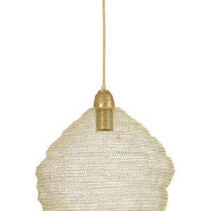 Light Gold Hanging Lamp