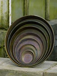 B. Green Metal Saucer / Dish 45018001-15 (B)