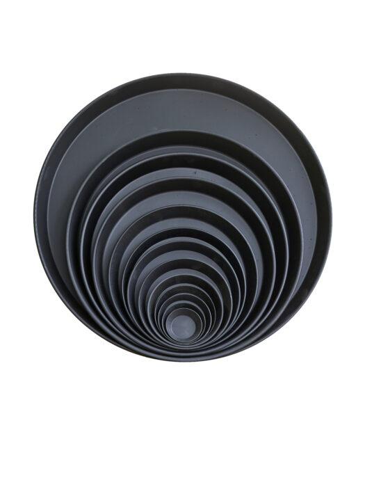 45109901-15 Black Saucers