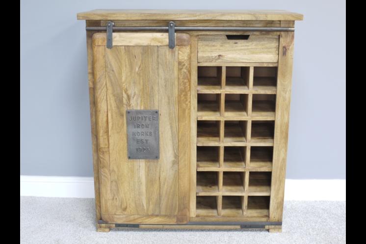 5405 Industrial Wine Cabinet
