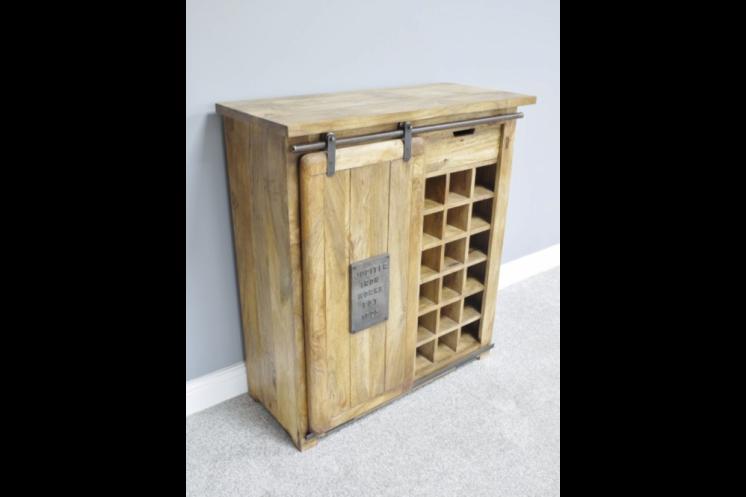 5405 C Industrial Wine Cabinet