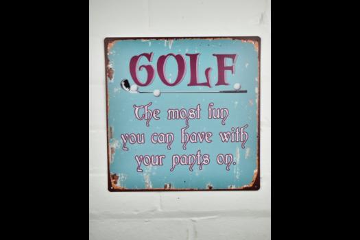 5773 golf Sign
