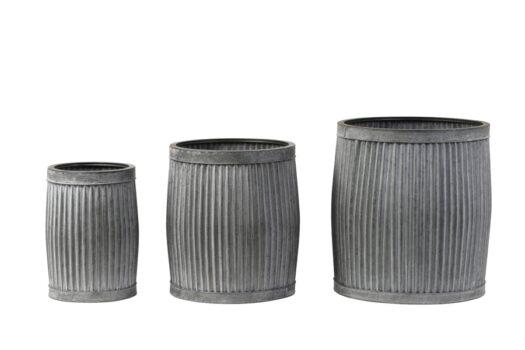 5906774 - Flower pot S:3 max Ø44,5x49 cm FREESIA zinc grey
