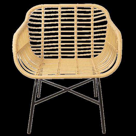 5RY0007 Wide Rattan Chair