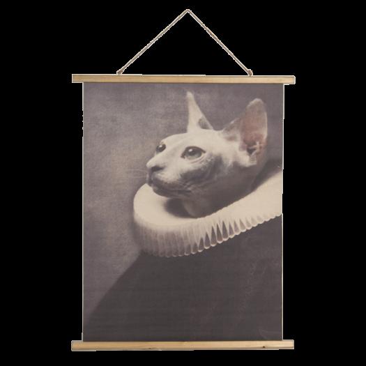 5WK0036 Hanging Wall Chart - Cat