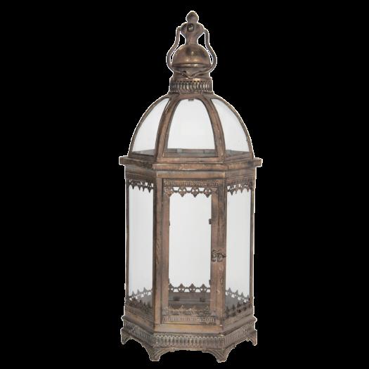 5Y0734 Large Bronzed Lantern