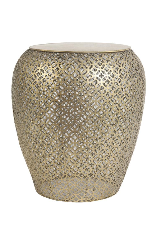 6749185 - Side table Ø45x49 cm RANDO gold