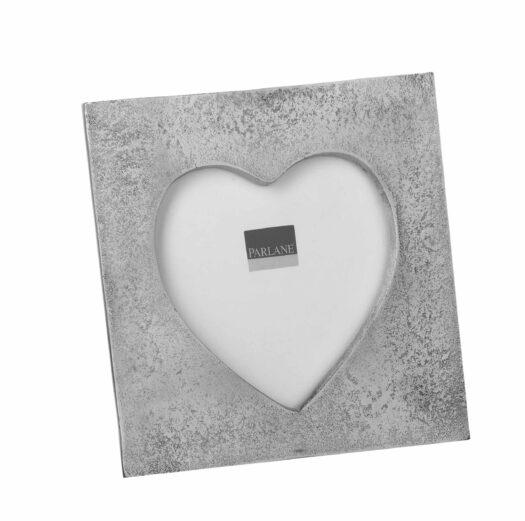 680497 Silver Heart Photo Frame