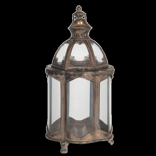 6Y4001 Bronzed Decorative Lantern