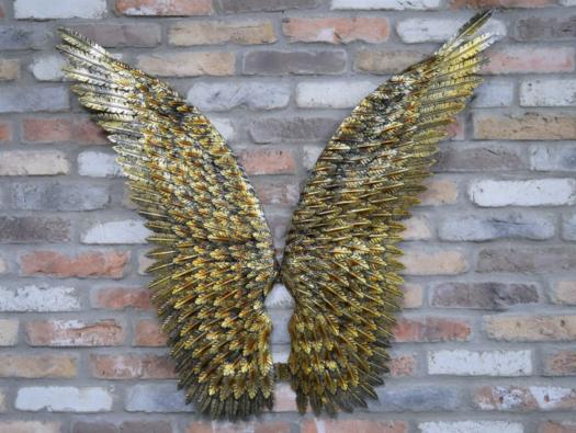 Angel Wings Metal Gold 7207