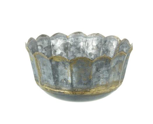 810767 Zinc Plant Pot