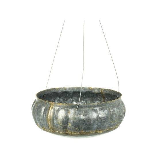 810775 Zinc Hanging Planter