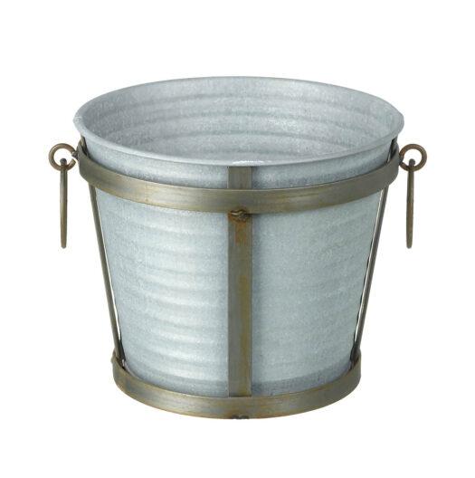 820767 Zinc Planter