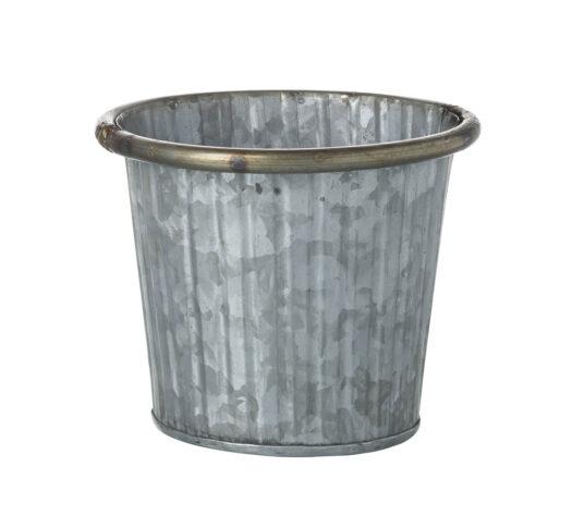 821028 Zinc Plant Pot