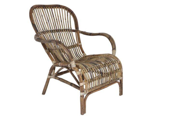 8600130 - Chair 83x64x86 cm BANDUNG rattan spider