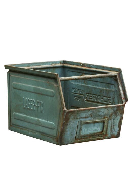 ALMA Vintage Lin Bin. (95004915- 35 x21 x20cm PETROLEUM GREEN - VINTAGE)