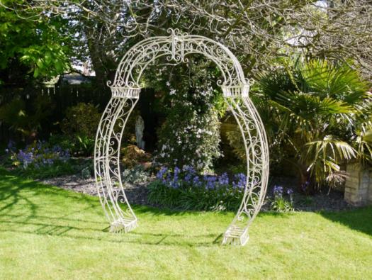 Ornate Cream Arch