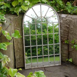 Arch Garden Mirror
