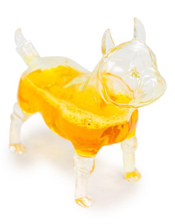 BKR11 A French Bulldog Glass Drinks Decanter