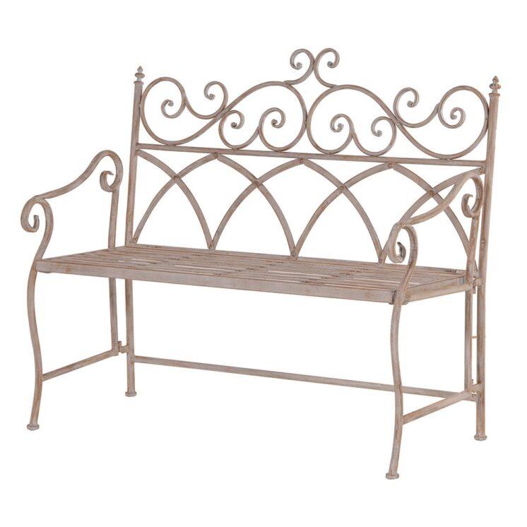Coach House Metal Folding Bench Product Code- GCR046