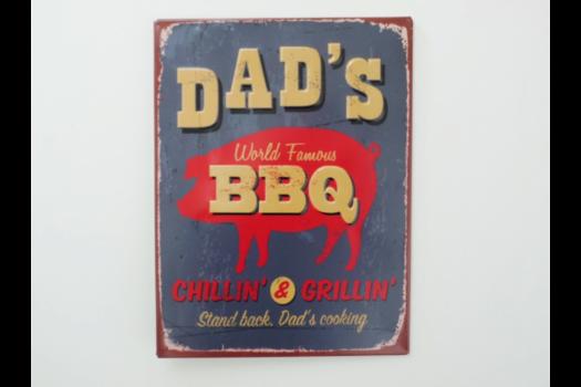 Dad BBQ Sign SN- 3563
