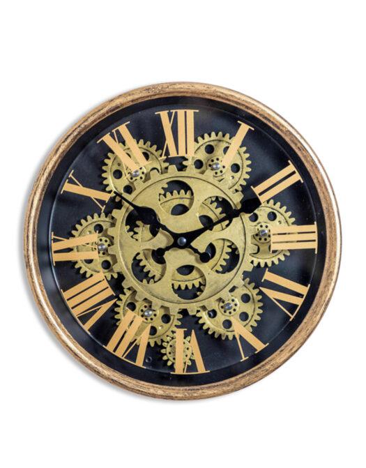 ET349 Moving Gears Clock