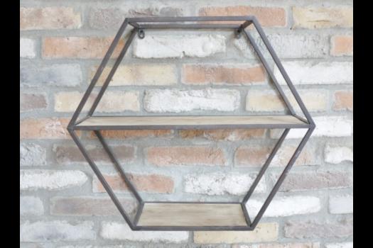Hexagonal Shelves SN- 4462