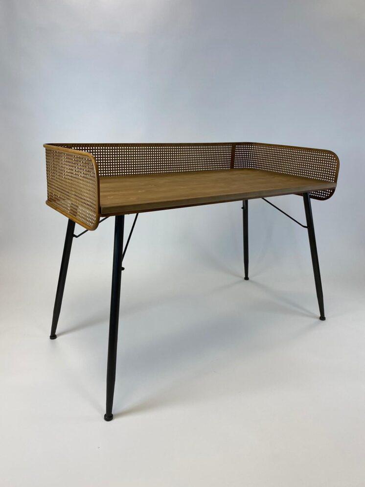 Rattan Console Desk
