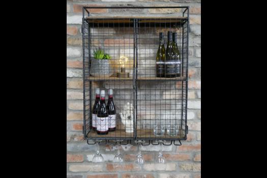 Industrial Wine Wall Unit SN- 7729
