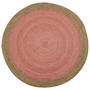 Milano Pink Jute Rug