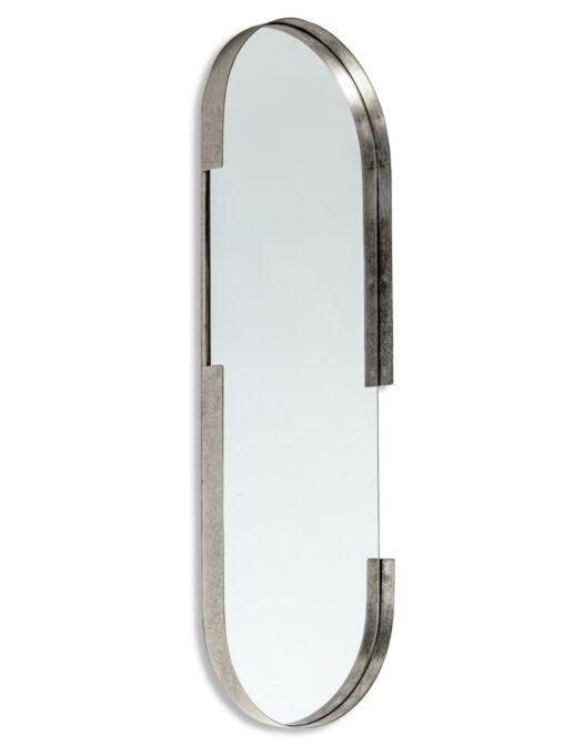 Antique Silver/Champagne Medium Portrait Wall Mirror