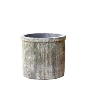Patinated Clay Pot – Liv Medium