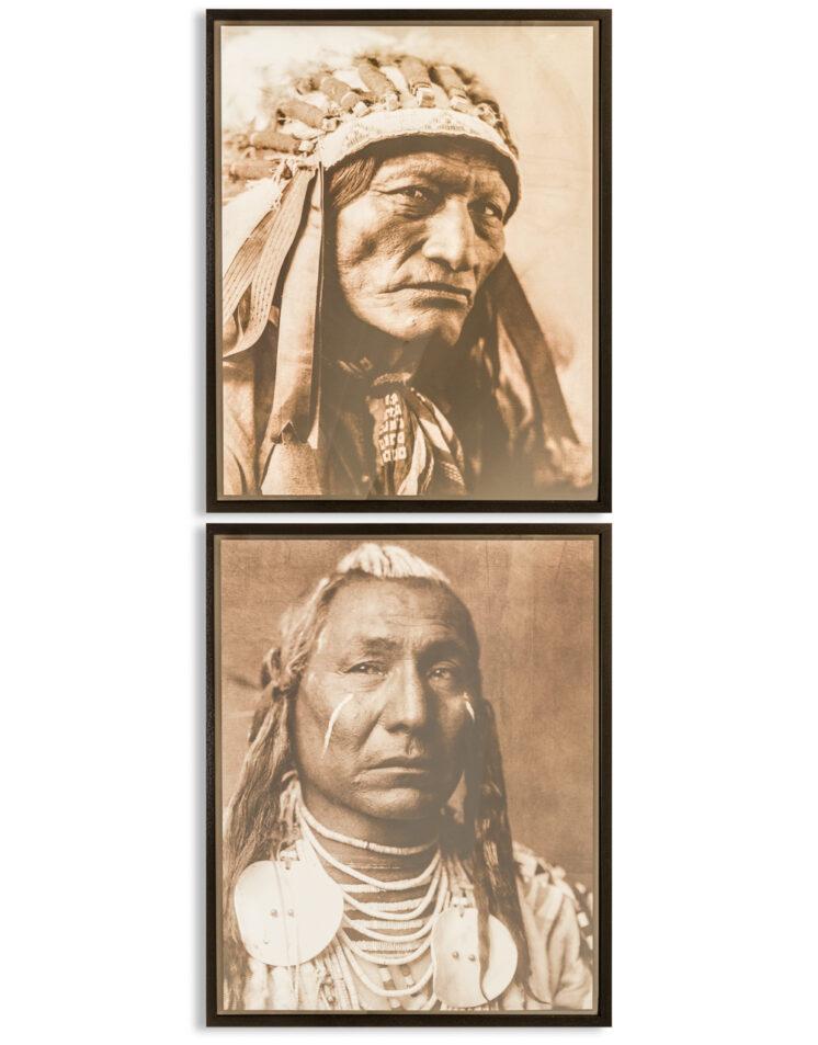 Native American Framed Prints - LTA10
