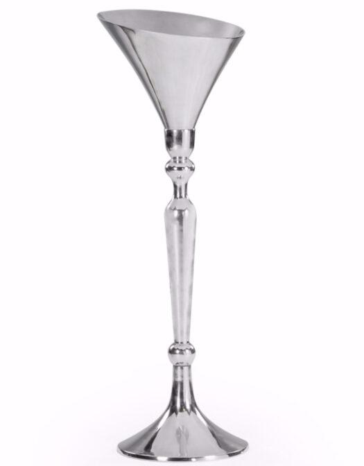 Large Polished Aluminium Champagne Bucket on Stand LARGE POLISHED ALUMINIUM CHAMPAGNE BUCKET ON STAND ITEM CODE- AL54