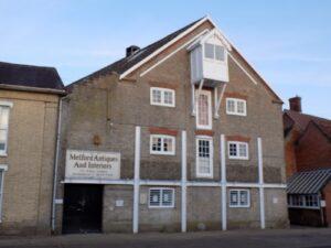 Long Melford Antiques Exterior