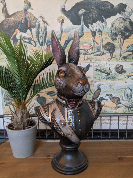 Gentry Rabbit Bust