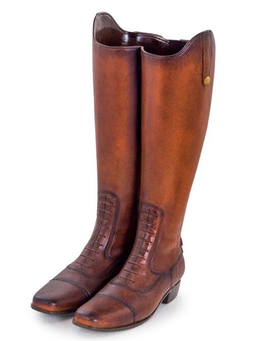 Pair of Leather Boots Umbrella Stand:Vase PAIR OF LEATHER BOOTS UMBRELLA STAND:VASE ITEM CODE- CRT7