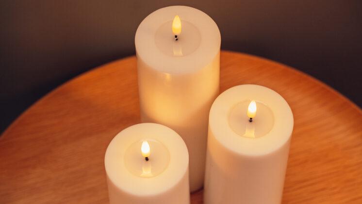 White LED Candle
