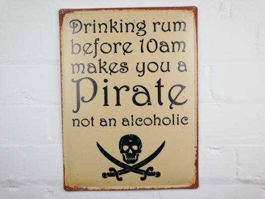 Sign (Drinking Rum) SN- 5797