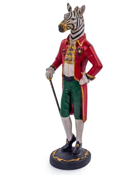 Standing Gentry Zebra Figure