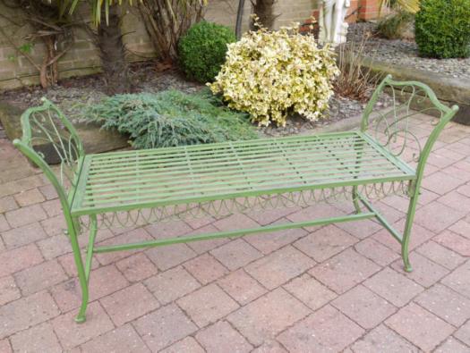 Stool Bench (antique Green) SN- 2425