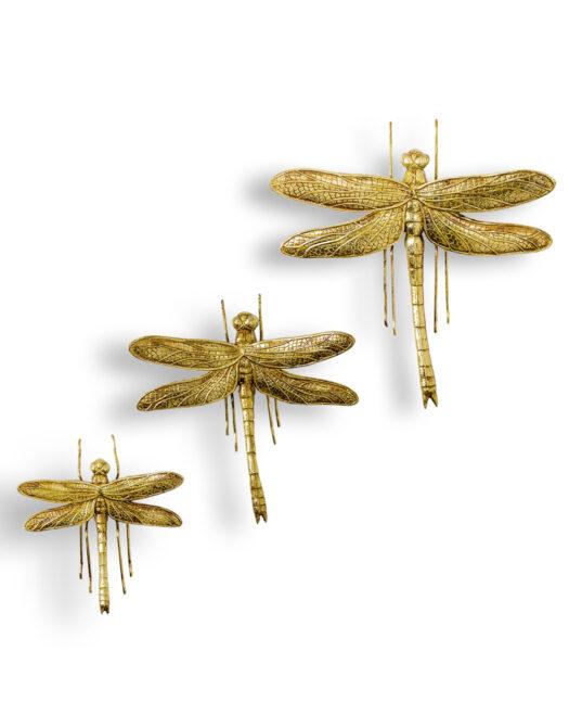 TPR69 set of 3 Dragonflies