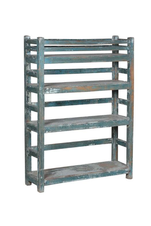 Vintage Indian Blue Rack 152